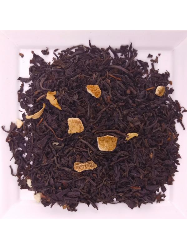 Black tea with orange